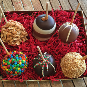 Deluxe Caramel Apple Gift Box