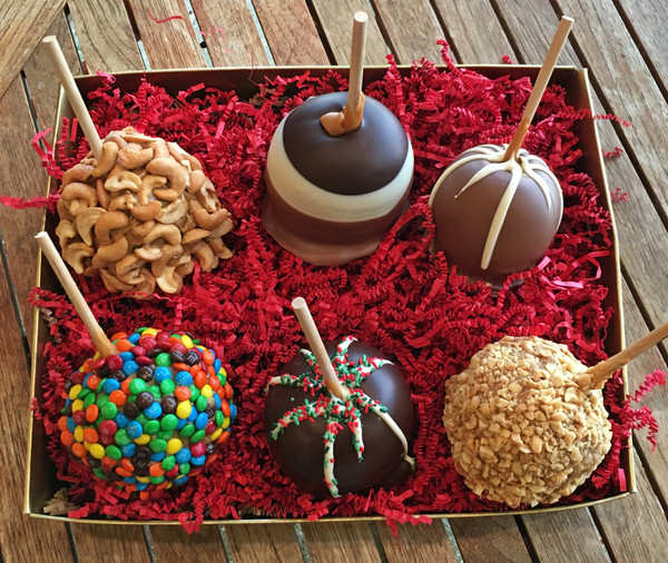 sweet shop - Christmas Candy Apples